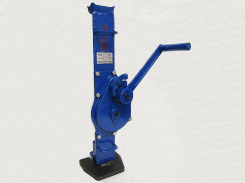 10 Ton Rack & Pinion Jack - 10000KG Mechanical Lifting Manual Fixed Claw
